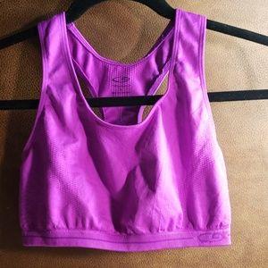 Large sports bra